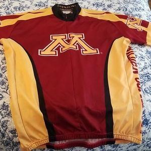 MN Gopher Biking Jersey